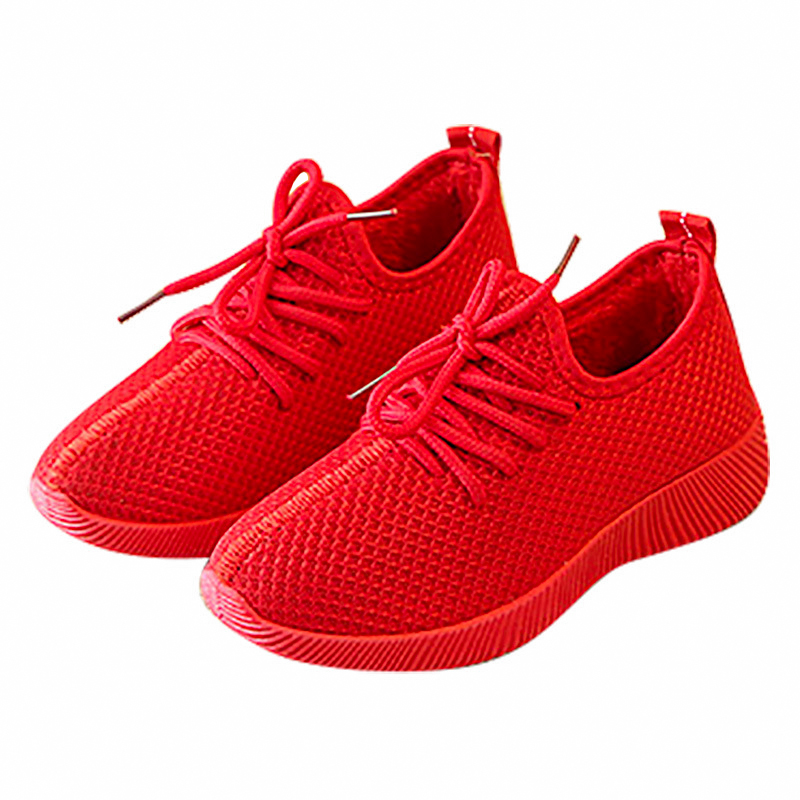 Us 8 11 35 Off New Boys Trainers Breathable Mesh Children Casual Sneakers Girls Soft Bottom Sports 2019 Fashion Kids Yeezys Running Shoes In