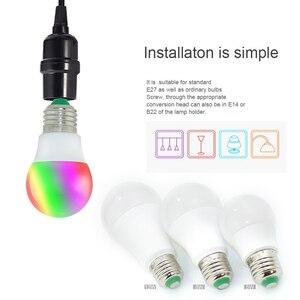 Image 5 - High Power RGB LED Lamp E27 E14 3W 5W RGB 10W 15W RGBW RGBW  Light AC85 265V Lampara 16 Colors Remote Controller bombillas led