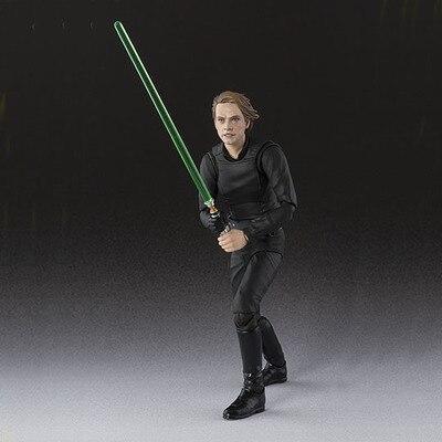 6 SHF S.H.Figuarts Star Wars Luke Skywalker PVC Action Figure Collectible Model Toy 15cm star wars jedi knight master yoda pvc action figure collectible model toy doll gift 12cm kt2029