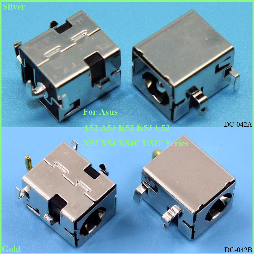 ChengHaoRan 1 Piece 2.5mm New DC power jack For ASUS K43 K43S K53S A52 A53 K52 X44H K52 X52 X54 A83 AC DC Jack Connector,DC-042 yuxi free shipping 100x dc power jack connector for asus g53 g53s g53j g53sx g53sw g53jw g53jw 3de g53jw dc jack