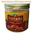 200 gram Reishi/Lingzhi/Ganoderma Lucidum 50: 1 Triterpenóides Extrato 50% Polissacarídeo> 10% frete grátis