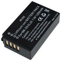 Haute Qualité 7.4V 1.2A EN-EL20 EN EL20 ENEL20 Rechargeable Batterie pour Appareil Photo Nikon EN-EL20a 1 J1 J2 J3 S1 Appareil Photo Numérique
