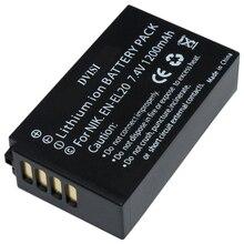 Haute Qualité 7.4V 1.2A EN EL20 EN EL20 ENEL20 Rechargeable Batterie pour Appareil Photo Nikon EN EL20a 1 J1 J2 J3 S1 Appareil Photo Numérique