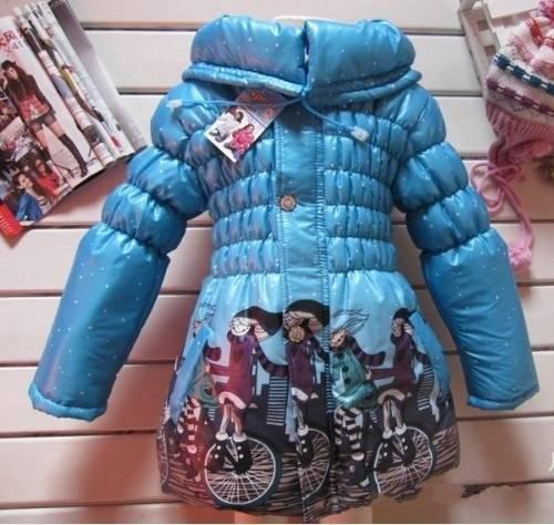 Kids Girls Junior Warm Jacket Coat Hoody Winter Thick