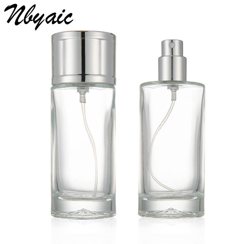 20ml 30ml 50ml Perfume Sub-bottle Portable Perfume Replacement Bottle Large-capacity Rehydration Spray Bottle Glass Empty Bottle