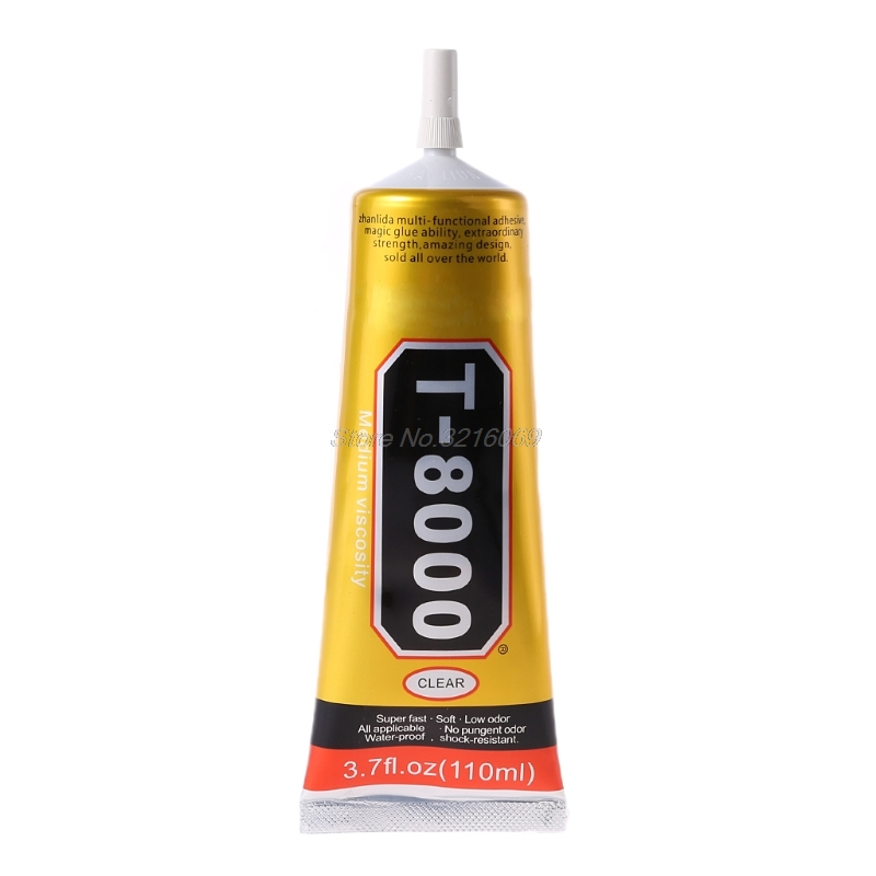<font><b>110ml</b></font> Super Strong Industrial <font><b>T8000</b></font> Liquid Glue Auto Rubber Leather T-8000 Adhesive Textile Cloth Touch Screen Whosale&Dropship image
