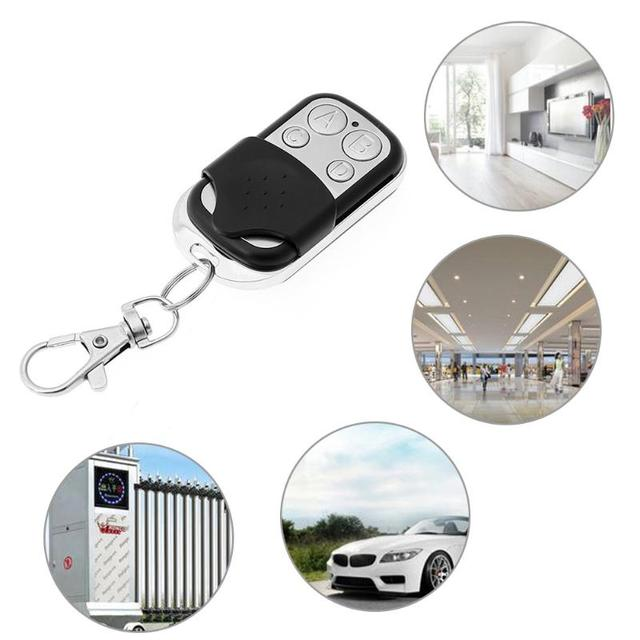 4 Channel Wireless Remote Control Duplicator Copy Learning Code RF Remote Control Key for Electric Gate Garage Key 315/433MHz