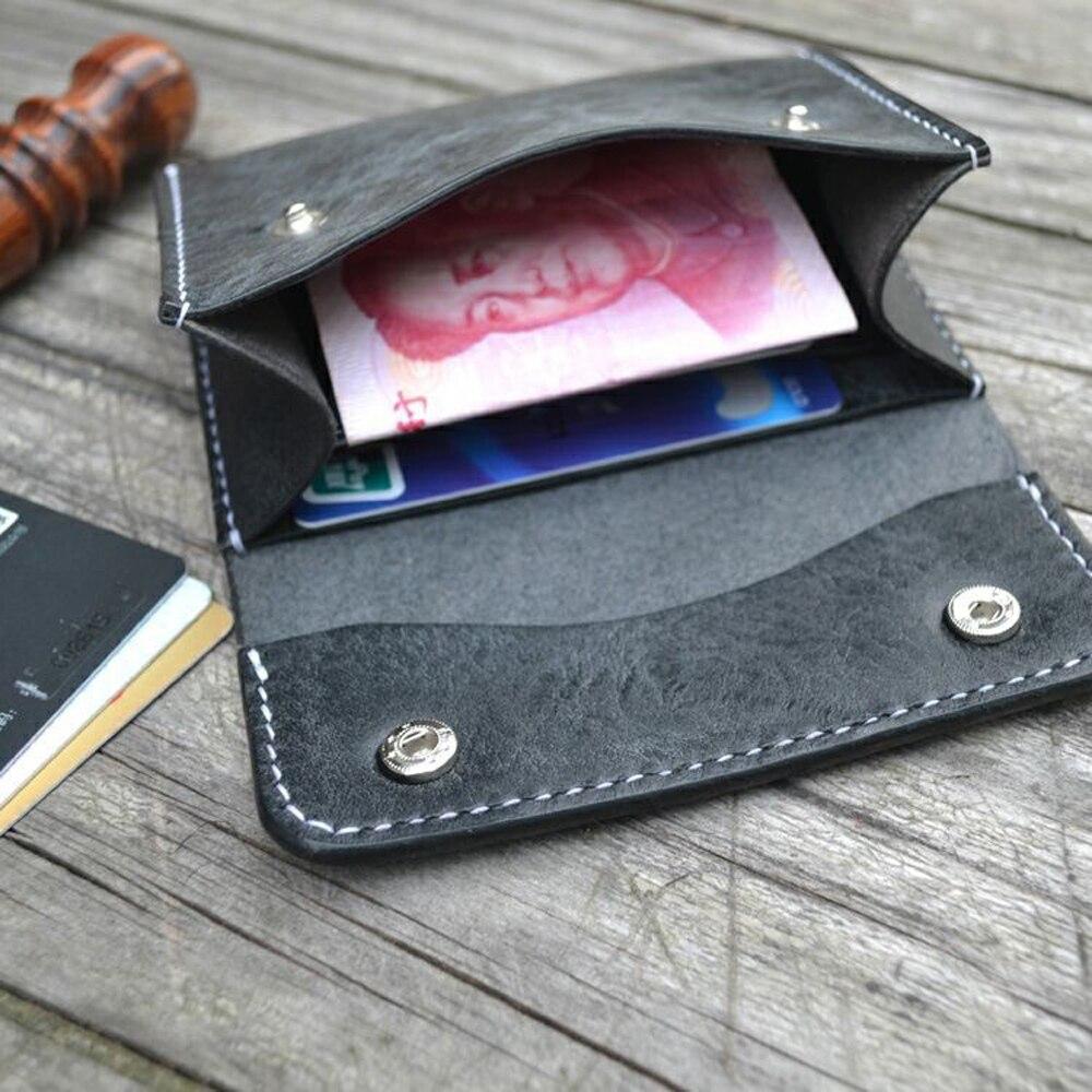 Cuir artisanat modèle cutter portefeuille porte carte découpe couteau moule en cuir trou poinçons outil ensemble deri el aletleri - 5