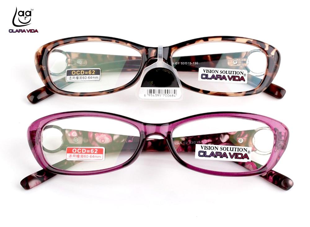 2019 Leesbril Clara Vida Hochwertige Vollrandbrille Leopard Tr90 - Bekleidungszubehör