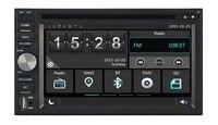 7color Car dvd Player 2Din universal double din bluetooth wince 6.0 256MB RAM/DVR/3G/WIFI/TPMS/GPS/navi/RADIO/FREE MAP camera