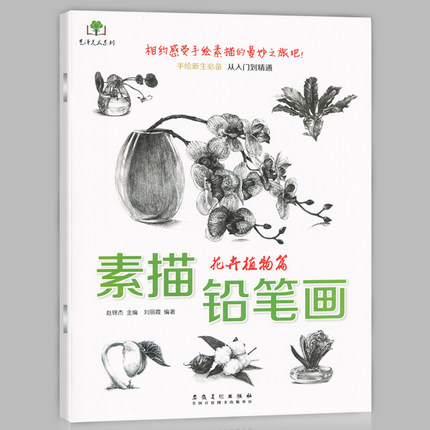 Chinese Flower Floriculture Hand-painted Freshmen From Introductory To Mastery Book