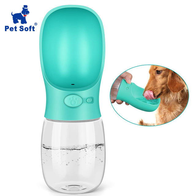 Pet Soft Portable Pet Dog Water Cup  Dog Bowl Cups Dogs Cats Feeder Water Outdoor For Puppy Cat Pets