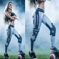 22 Colores Clásicos del Capitán América 3D Imprimir Mujeres Leggings Deportivos de Fitness Sexy Pantalones Elásticos Femeninos Ropa de Entrenamiento Ropa de Mujer