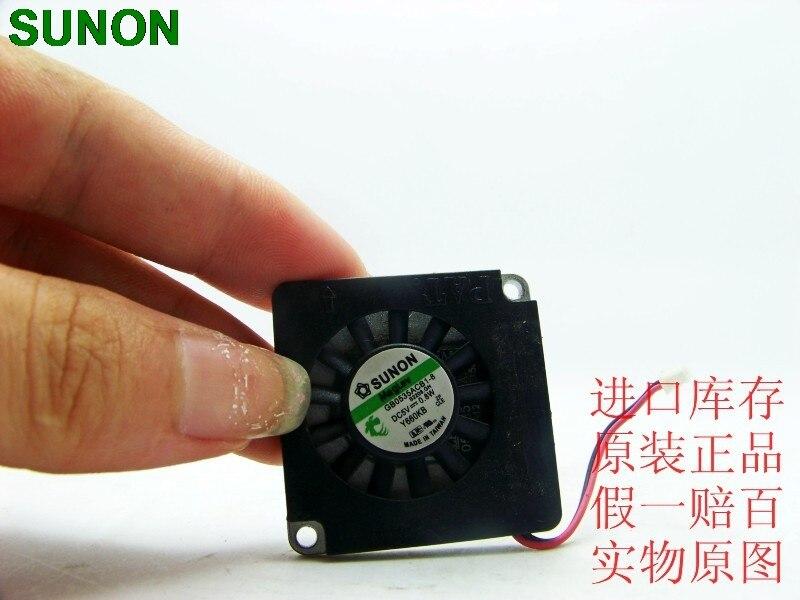 SUNON 3507 SUNON 5V 0.8W GB0535ACB1-8 thin aluminum centrifugal