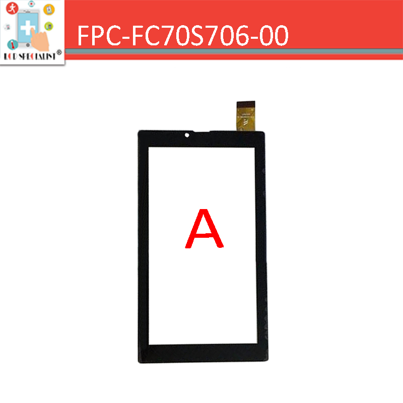 NEW Black 7 for FC70S706-00 FPC-FC70S706-01 Tablet PC Touch Screen Digitizer Glass Sensor Replacement Parts