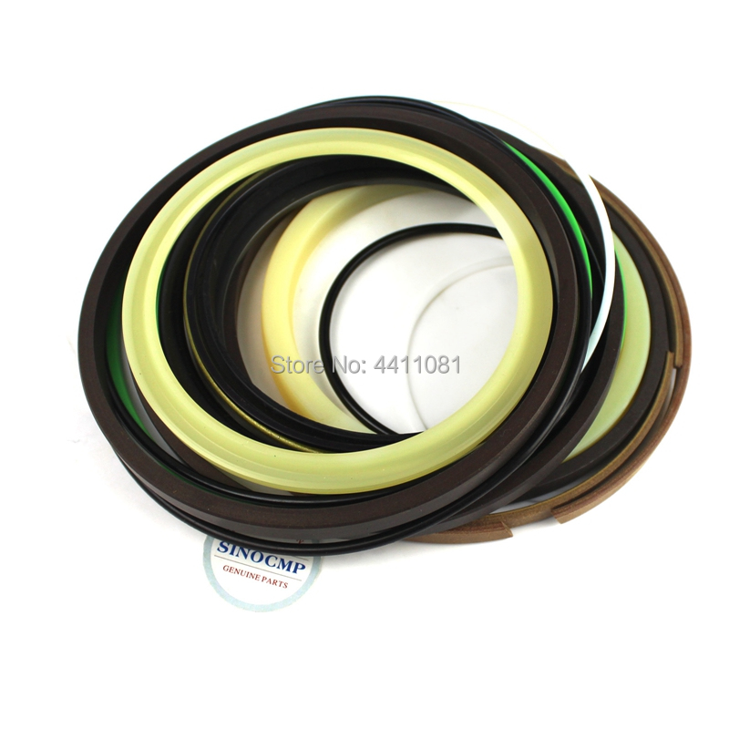 For Komatsu PC130-5 Arm Cylinder Repair Seal Kit 707-99-44200 Excavator Gasket, 3 months warranty high quality excavator seal kit for komatsu pc60 7 arm cylinder repair seal kit 707 99 38230