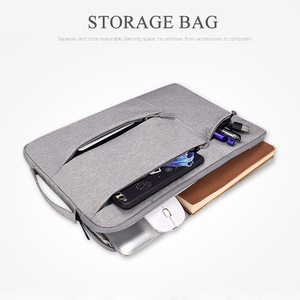 Image 3 - Laptop Bag 14 13 15 inch case Notebook Pouch for Macbook Air 13 Laptop Sleeve Portable Briefcase 15.6 Handbag Bag for Tablet