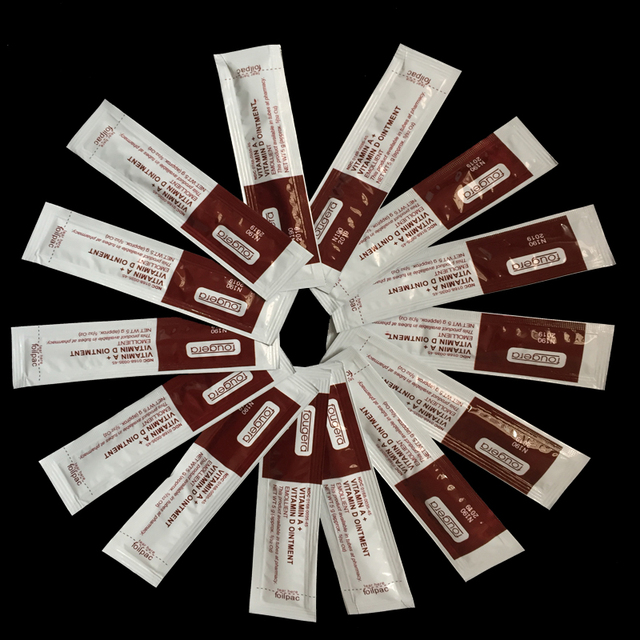 Hot Sale 100Pcs Fougera Vitamin Ointment A&D Anti Scar Tattoo Aftercare Cream For Tattoo body Permanent Makeup Tattoo Supplies