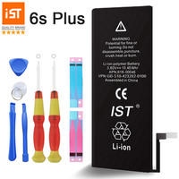 100 IST Original Mobile Phone Battery For IPhone 6s Plus Real Capacity 2750mAh With Repair Tools