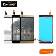 Replacemnt Screen for Huawei Honor 4C / G Play Mini CHM-U23 CHM-U03 CHM-U01 LCD Display with Touch Screen Digitizer Assembly for huawei honor 4c pro tit l01 lcd display touch screen digitizer assembly with no frame not fit for honor 4c disply sensor