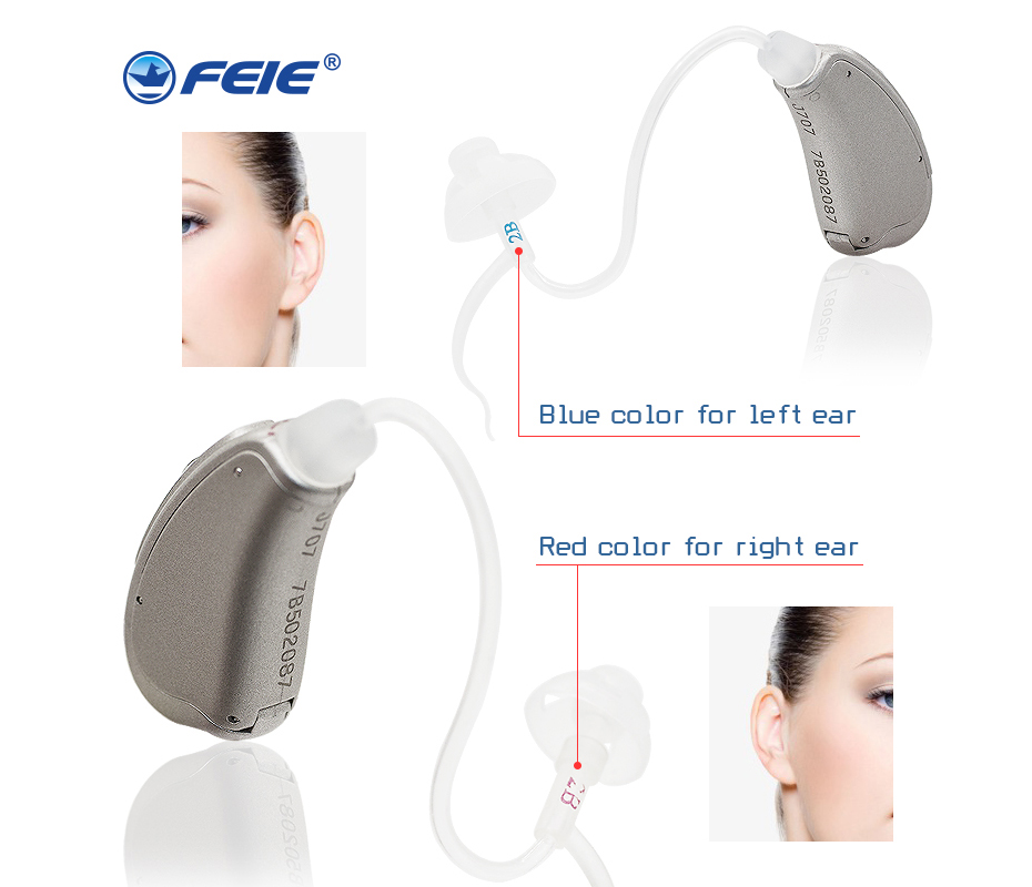 2PCS/lot auditory apparatus Digital Programmable Hearing Amplifier Hearing Aid Do it yourself for Hearing Care MY-19S freeship