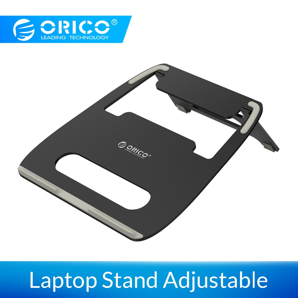 Bild von ORICO Aluminum Alloy Laptop Stand Adjustable Angle Silicone Desgin Anti-Skin Stable Portable PC Stand Holder For Tablet/Laptop