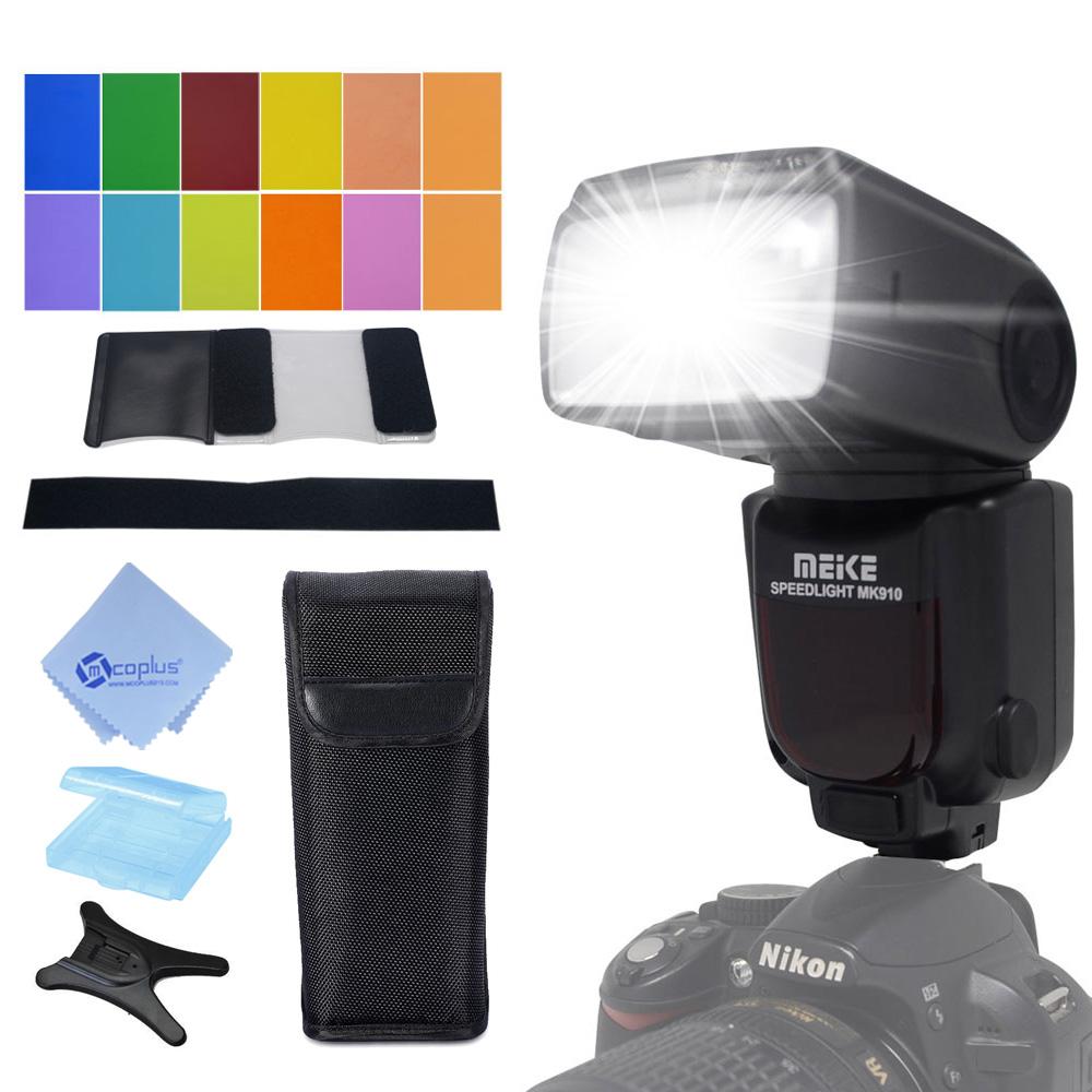 Prix pour Meike MK-910 MK910 je-TTL 1/8000 s HSS Synchronisation Maître et Esclave Flash Flash pour Nikon SB-910 SB-900 D7100 D800 D750 D600 DSLR