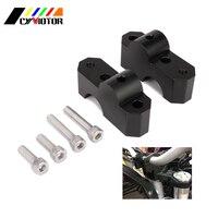 Motorcycle CNC Aluminum HandleBar Clamp Riser Adaptor For Benelli BJ300 TNT300 BN300