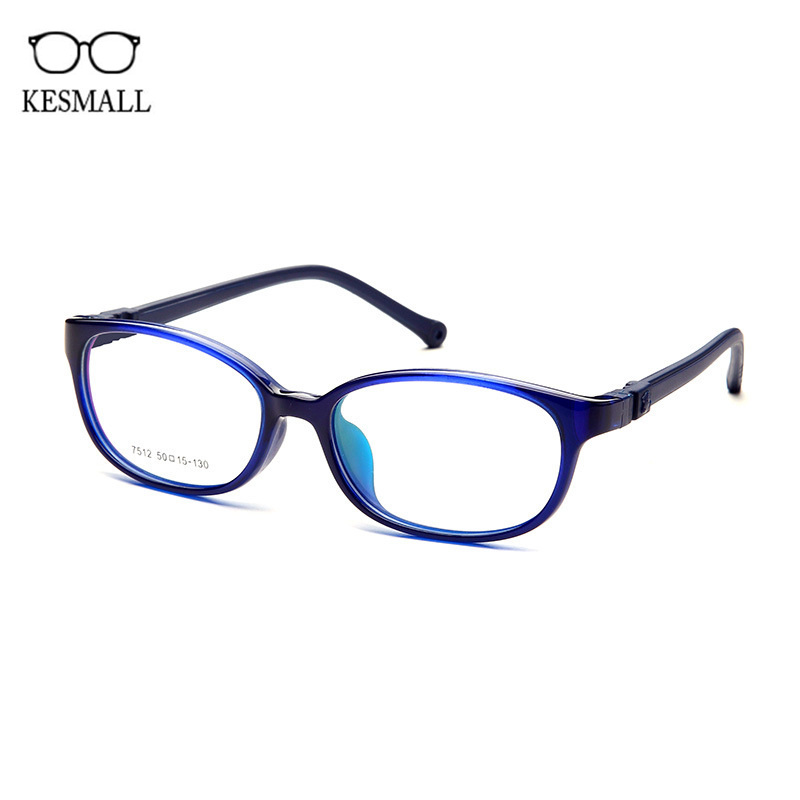 KESMALL Kids TR90 Optical Prescription Diopter Glasses Boy Girl Gaming Eyewear Child Spectacle Frame With Myopia Lensce XN892P