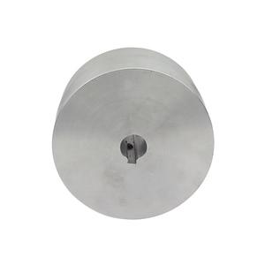 Image 5 - 1 piece Belt Grinder Knife Grinder Wheel Fully Aluminum Contact Wheel Active wheel