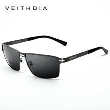 VEITHDIA Brand Designer Original Box Classic Sunglasses Men Polarized Lens Vintage Sun Glasses Male gafas oculos de sol 2711