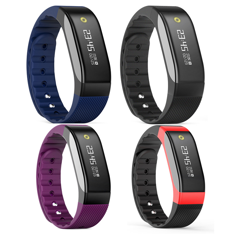 Bluetooth Intelligent Bracelet with Heart Rate Test Movement High end Gift Bracelet Mi Band 2 for