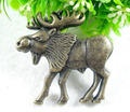 Cabinet Knobs Drawer Pull Antique Children Cartoon Deer Knob ( L:53MM  H:19MM Width:51MM)