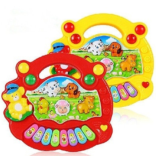 1Pc Animal Farm Music Piano Educational Toy Baby Developmental Music Toy Gift