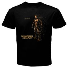 The Groot Guardian of The Galaxy Tshirt black Basic Tee