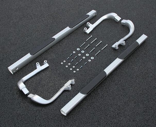 JIOYNG voiture marchepieds Auto côté marchepied pédales tout nouveau Nerf Bars convient pour VOLVO XC90 2007 2008 2009 2010 2011 2012 2013