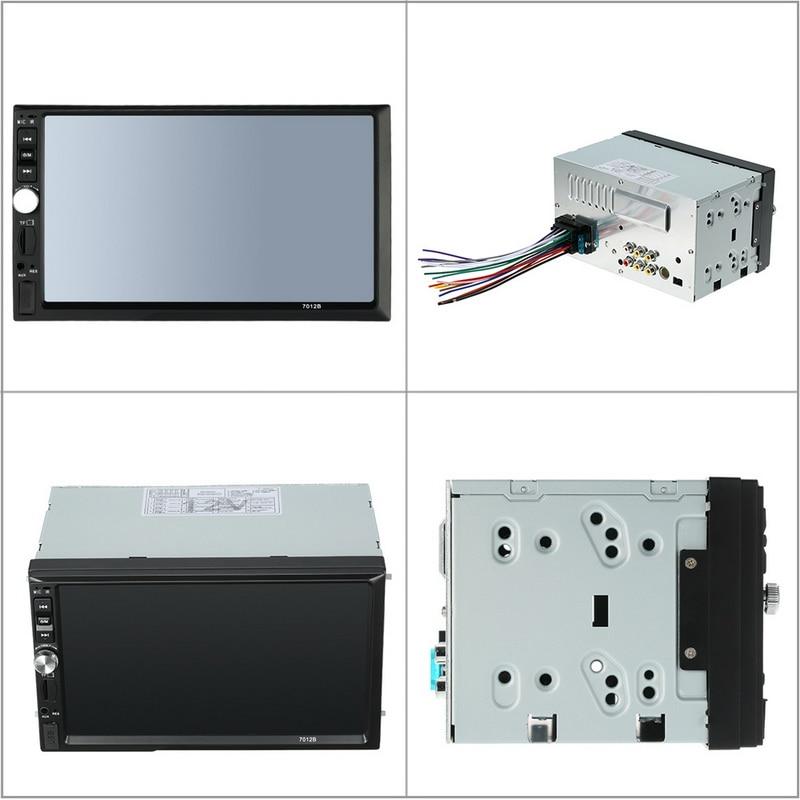 7012B 12V Bluetooth Car Radio Player Stereo FM/MP3/Audio r/ USB/SD