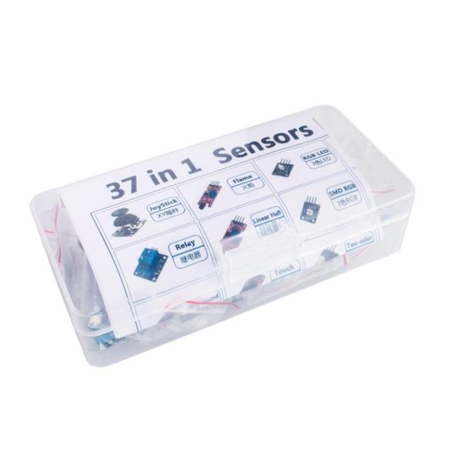 37 em 1 Kit caixa Sensor Para Arduino Starters marca em preço baixo estoque de boa qualidade