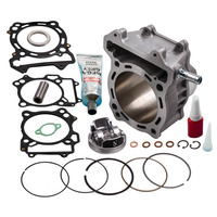 Cylinder Piston Gasket Top End Kit For Suzuki LTZ 400 434cc Big Bore 2003 2013 Brand New