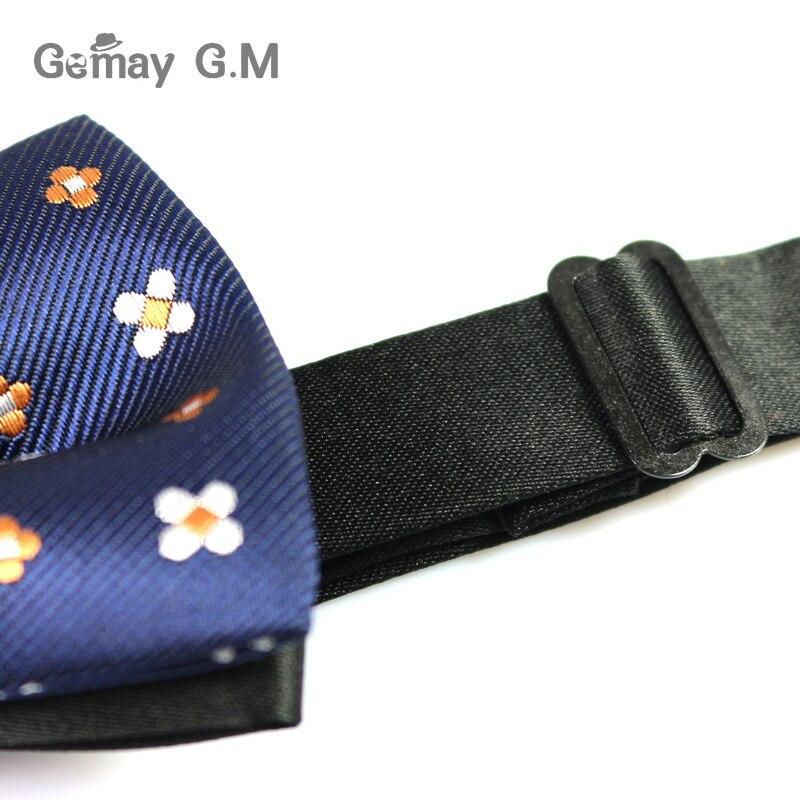 Kişilər üçün Yeni Polyester Bowtie Moda Təsadüfi Floral - Geyim aksesuarları - Fotoqrafiya 5