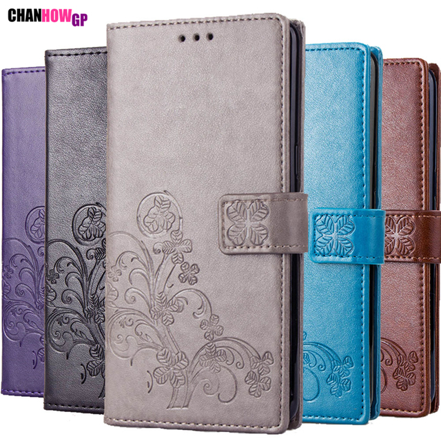 3d Clover Leather Case For Samsung Galaxy A3 A5 A7 2016 2017 A6 A8