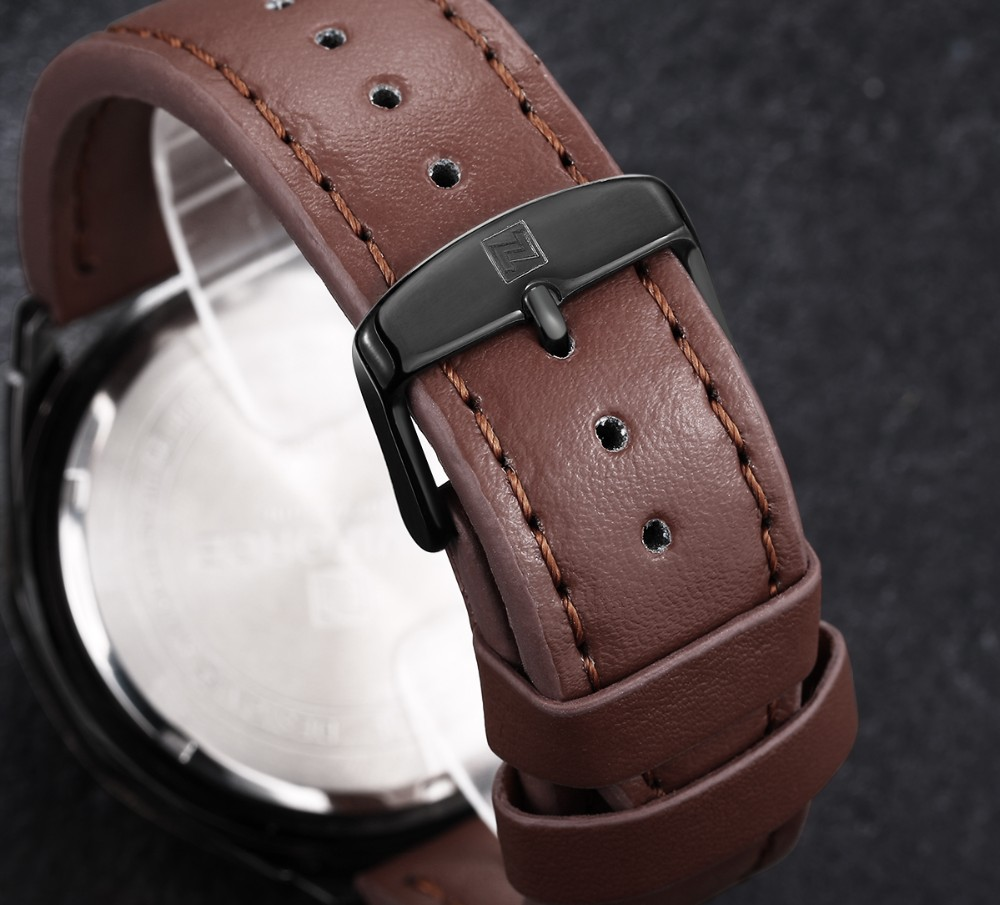 Mens Watches Top Brand Luxury NAVIFORCE Sport Men's Quartz Watch Waterproof Wristwatch Leather Male Clock Relogio Masculino 6