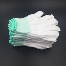 5Pairs hand gloves Garden work thin Cotton Glove gardening work Gloves Construction welding Woodworking gloves