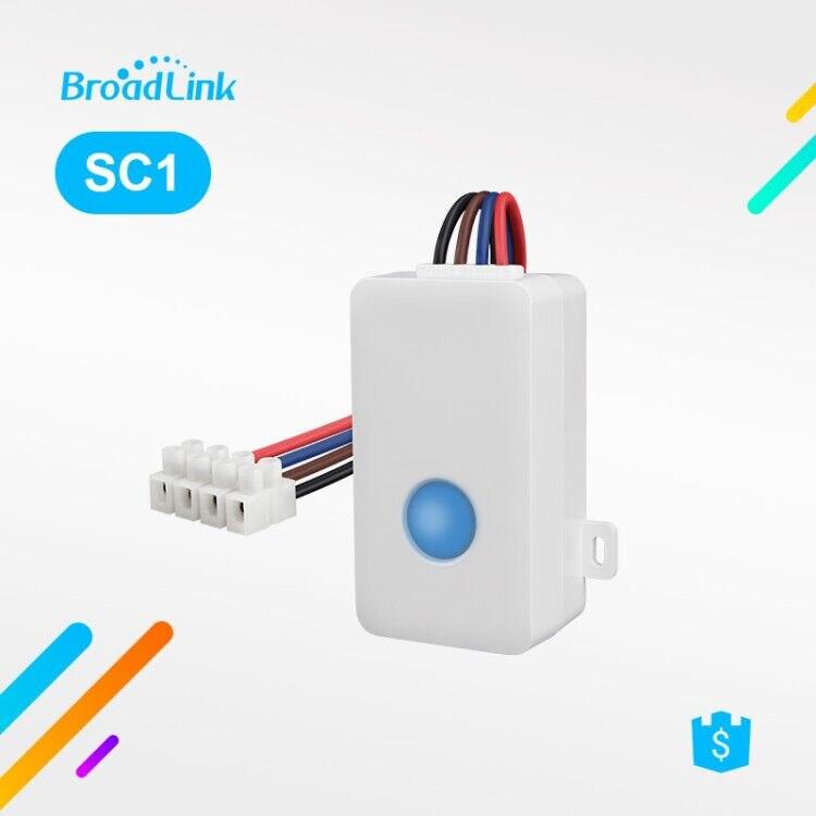 Broadlink SC1 Smart Switch WiFi APP 2,4 GHz caja de Control sincronización Draadloze Afstandsbediening 2500 W Ondersteuning iOS 7,0/Android