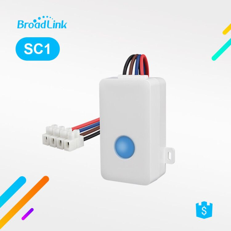 Broadlink SC1 Smart Switch WiFi APP 2,4 ghz Control Box Timing Draadloze Afstandsbediening 2500 watt Ondersteuning iOS 7.0/Android