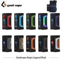 Оригинальный GeekVape Aegis Legend 200 Вт TC коробка мод новый как чипсет питание от двух 18650 батарей e сигареты без батареи Aegis Легенда мод