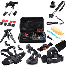 15pcs Basic Outdoor Sports Accessories Bundle Kit for Gopro Sports Camera Tools