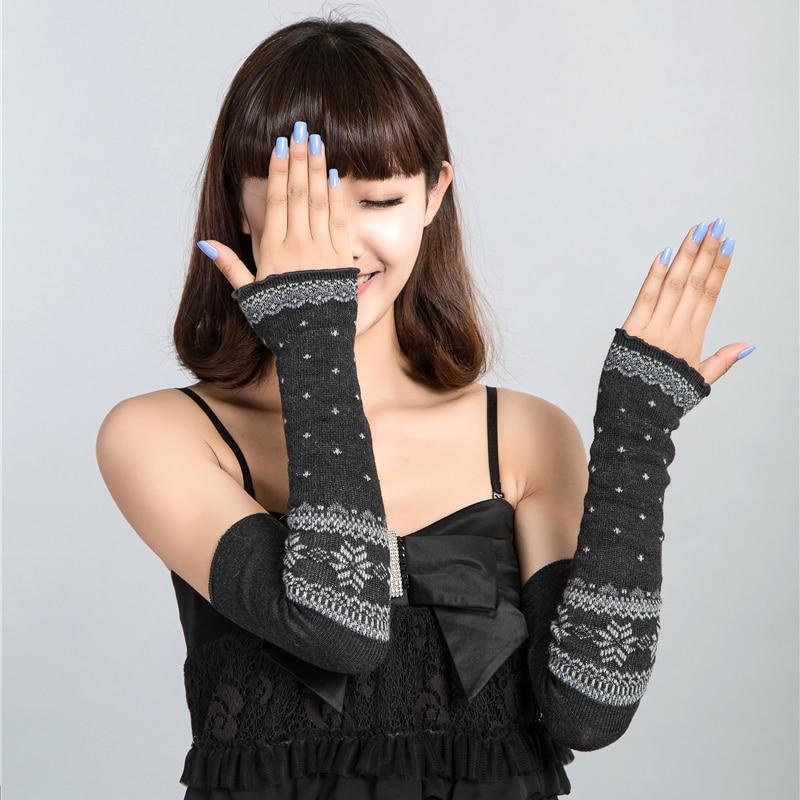 2018 Fashion New Women Arm Warmers Caneleir Mitts Cotton Summer Sun Necessary Summer Style Sunscreen Gauntlets