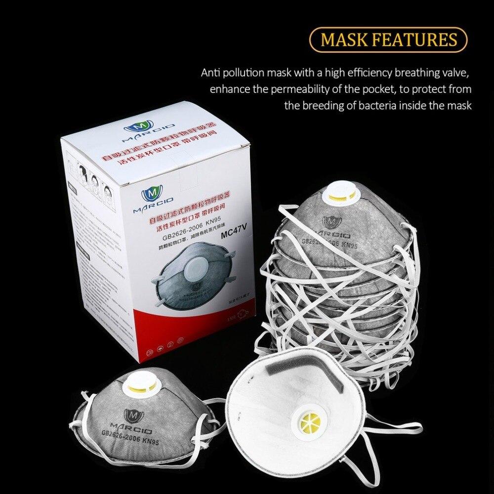 15 PCS Disposable Professional Health Care Accessories Non-Woven Anti-dust Anti Fog Anti Haze Mouth-muffle Mask Eco- friendly цена