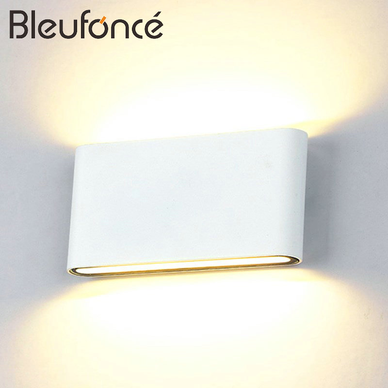10W LED Wall Lamp Indoor Outdoor IP65 Waterproof Garden Villa Fence Patio Courtyard Corridor Lighting